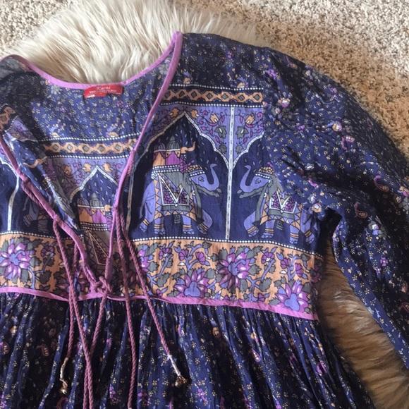 4b1ff743f7 Karni Dresses | Boho Peasant Indian Cotton Gauze Maxi Dress | Poshmark